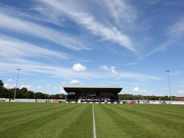 Corby Town's Steel Park home