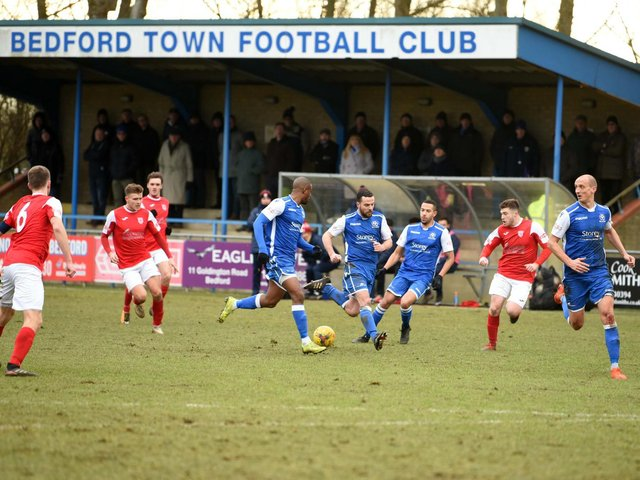 Bedford Town's Eyrie ground will be hosting Biggleswade FC's home matches from next season after a ground sharing deal was struck between the two clubs