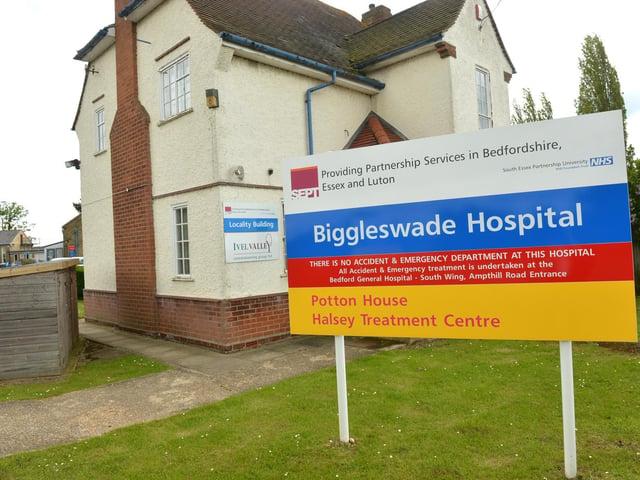 Biggleswade Hospital.