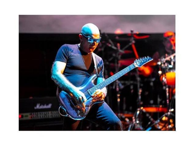 Joe Satriani by Richard Bolwell
