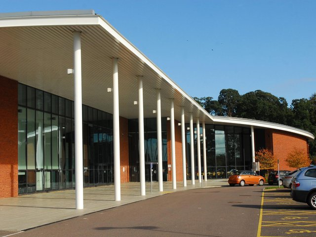 Central Beds Council's Chicksands headquarters