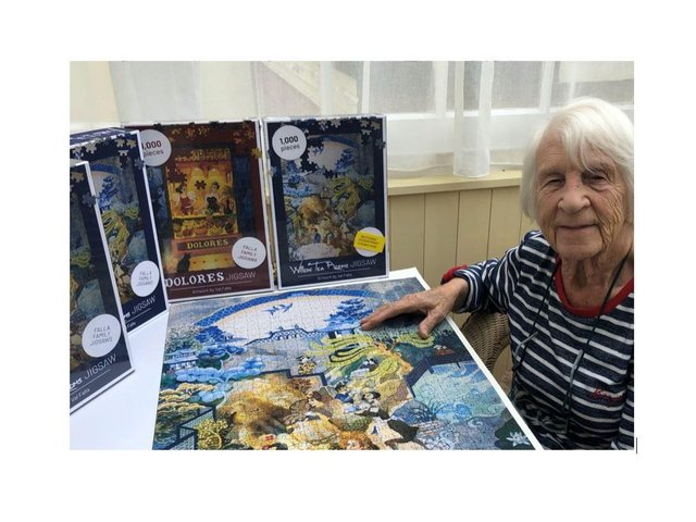 Val Falla and her Maple Jigsaws