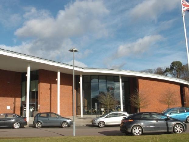 Central Bedfordshire Council headquarters, Chicksands.