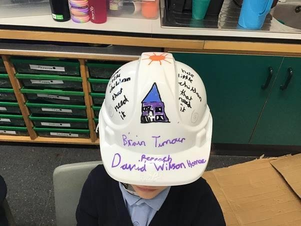 Hats on for Brain Tumour Research.