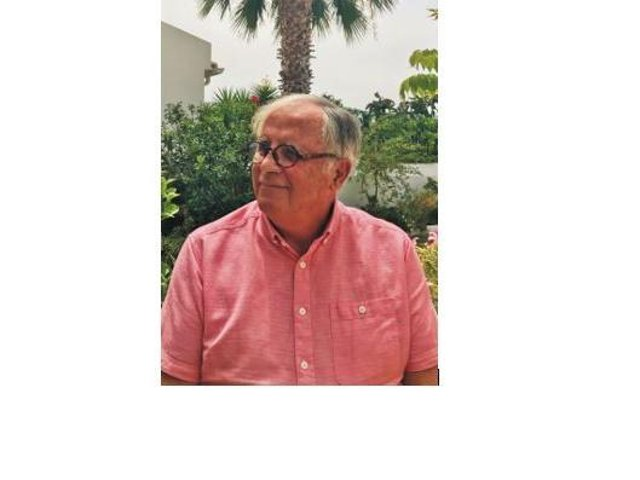 Eastbourne author Geoff Cook