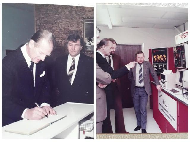 Prince Philip's visit. Photo: Lindsey Walker.
