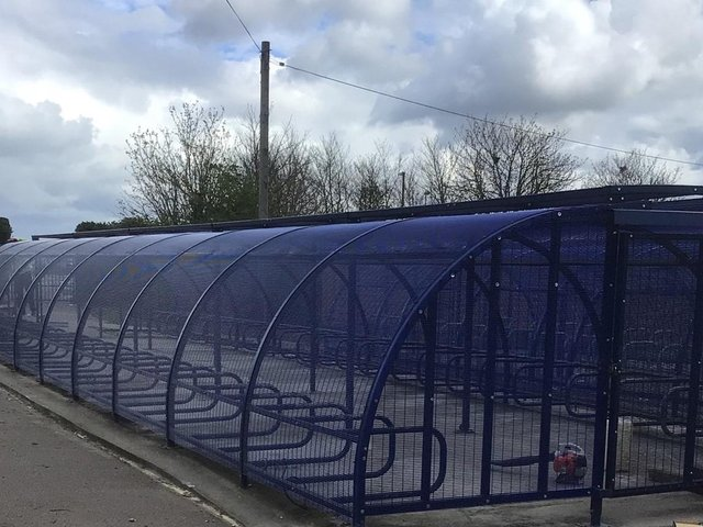 The new bike shed