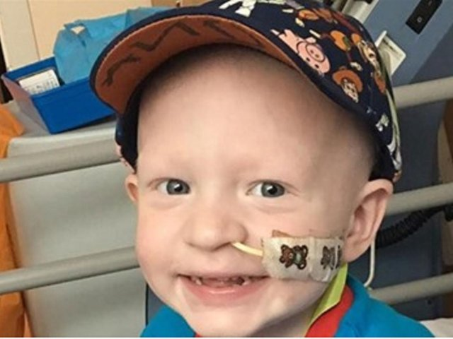 Ollie Sweeney's family are fundraising for vital treatment to save his life