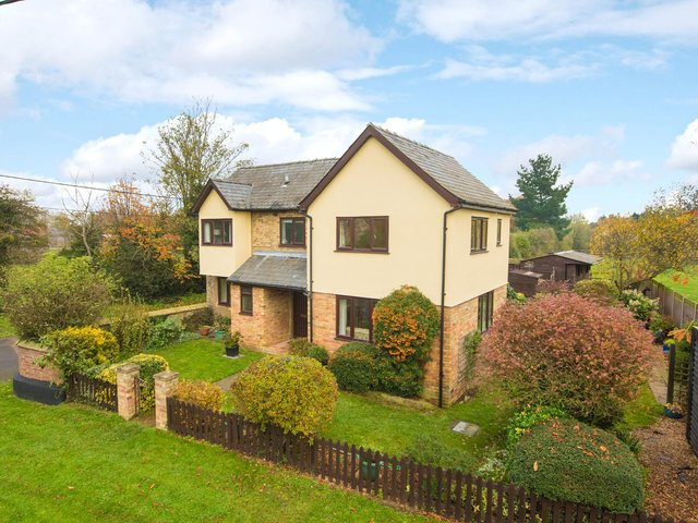 The property is located in a tiny hamlet of other individual rural properties.