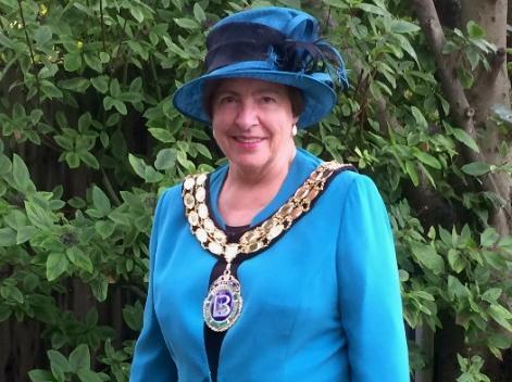 Madeline Russell has been re-elected mayor of Biggleswade