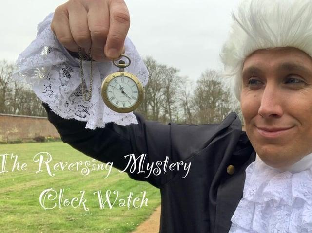 The Reversing Mystery Clock Watch