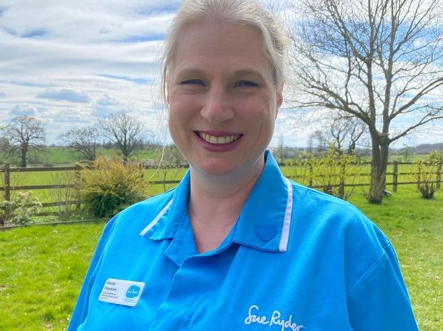Sue Ryder Nurse Nicola Fountain