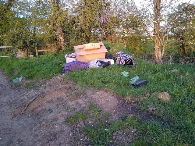 The cameras will help tackle fly-tipping. (PIC: CBC Cllr John Baker)