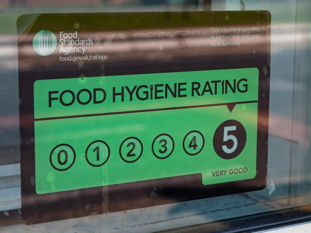 These are the businesses that have been given a five star food hygiene rating so far in 2021
