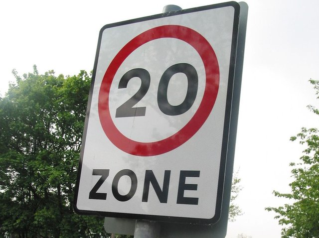 The measures will include a 20mph speed limit