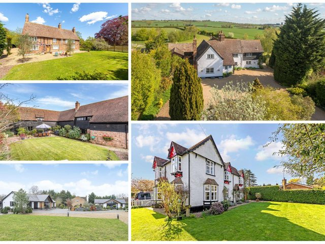 These are some of the most expensive properties for sale in the Biggleswade area right now.