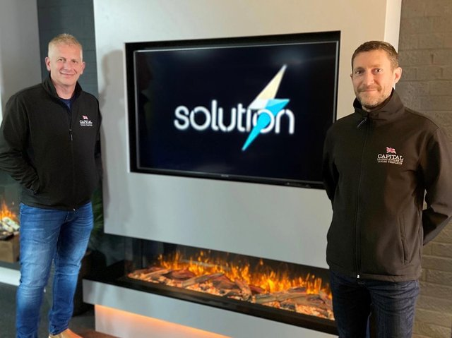 Andy Hitchman and Peter Gregory from Solution Fires.