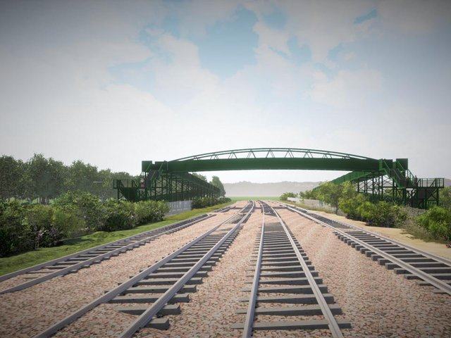 Safety concerns have prompted Network Rail to design the bridge costing more than £4.5m