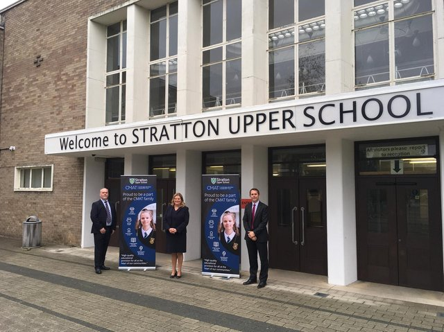 Stratton Upper School.