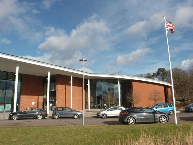 The debate took place at Central Beds Council HQ at Chicksands