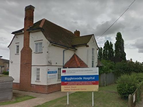 Biggleswade Hospital. Photo: Google Maps.