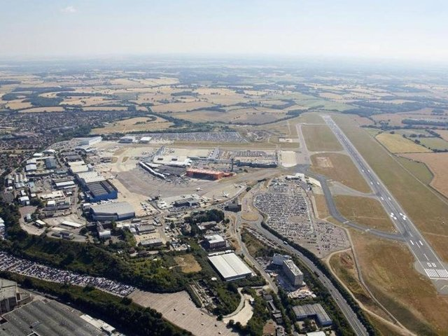 London Luton Airport.