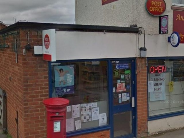 Meppershall Post Office