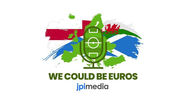 We Could Be Euros: our new podcast is out now (Graphic: Mark Hall / Kim Mogg / JPI)